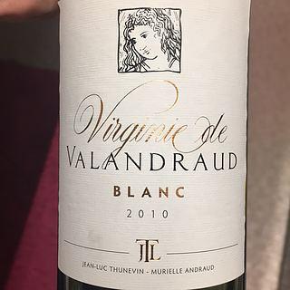 Virginie de Valandraud Blanc