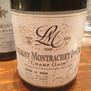 Lucien Le Moine Puligny Montrachet 1er Cru Champs Gains