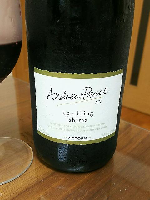 Andrew Peace Sparkling Shiraz(アンドリュー・ピース スパークリング シラーズ)