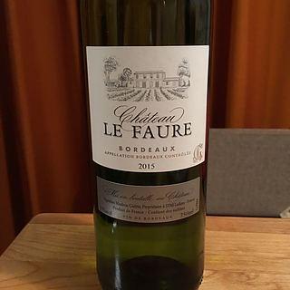 Ch. Le Faure Blanc(シャトー・ル・フォール ブラン)