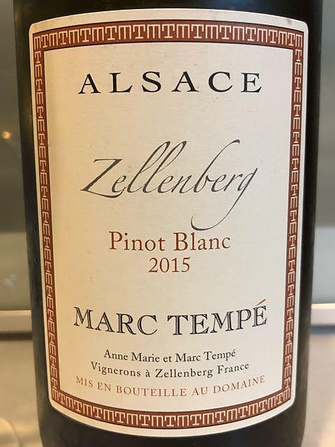 Marc Tempé Pinot Blanc Zellenberg