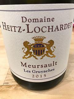 Dom. Heitz Lochardet Meursault Les Gruyaches