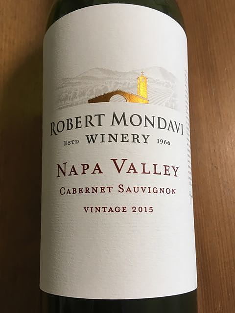 Robert Mondavi Winery Napa Valley Cabernet Sauvignon