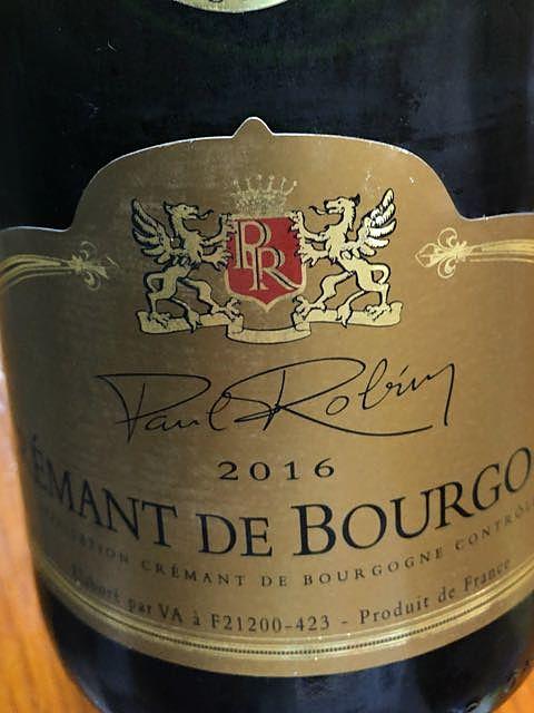Paul Robin Crémant de Bourgogne Brut