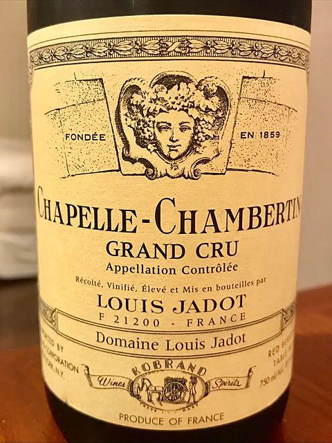 Louis Jadot Chapelle Chambertin Grand Cru