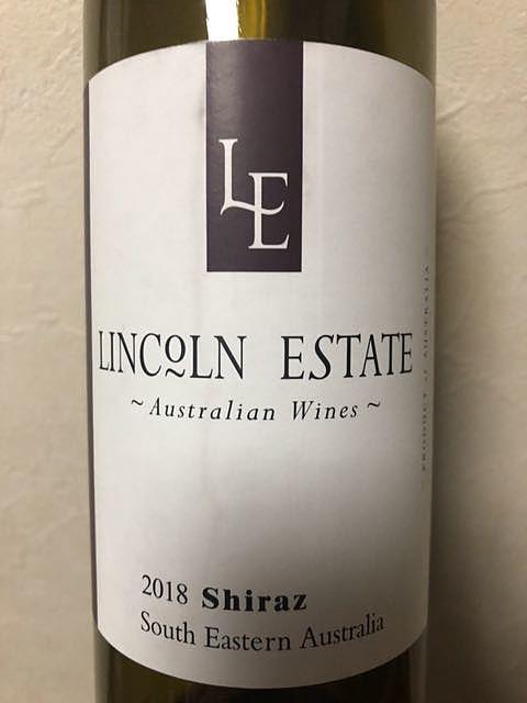 Lincoln Estate Shiraz(リンカーン・エステイト シラーズ)