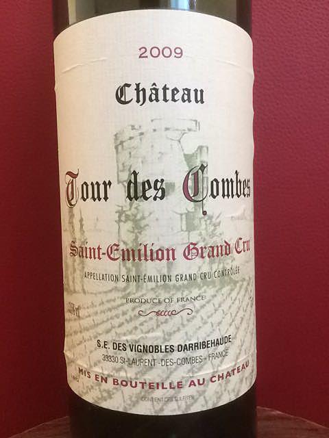 Ch. Tour des Combes(シャトー・トゥール・デ・コンブ)