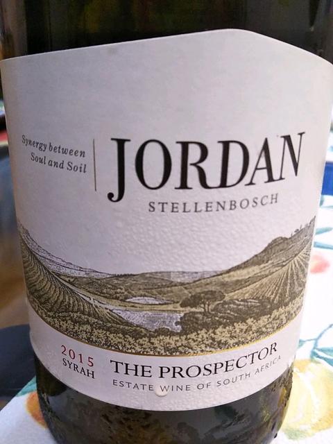 Jordan The Prospector Syrah