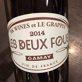 BK Wines et Le Grappin Les Deux Fous