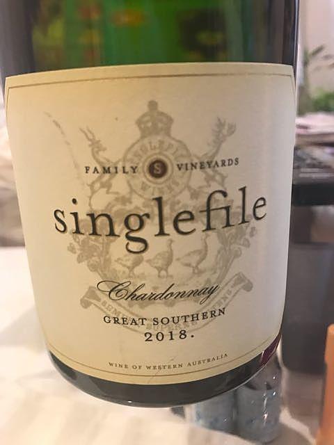 Singlefile Great Southern Chardonnay(シングルファイル グレート・サザン シャルドネ)