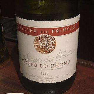 Cellier des Princes Côtes du Rhône Le Sceau des Prince Blanc(セリエ・デ・プランス コート・デュ・ローヌ ル・ソ・デ・プリンス ブラン)