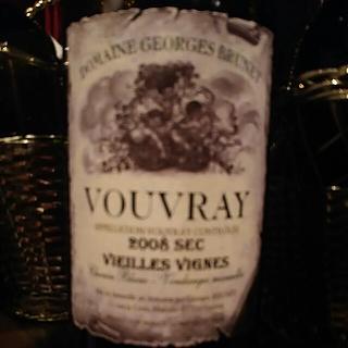 Dom. Georges Brunet Vouvray Sec Vieillse Vignes