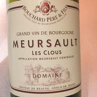 Bouchard Père & Fils Meursault Les Clous