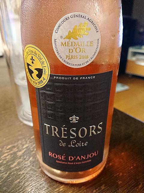 Trésors de Loire Rosé d'Anjou(トレゾール・ド・ロワール ロゼ・ダンジュ)