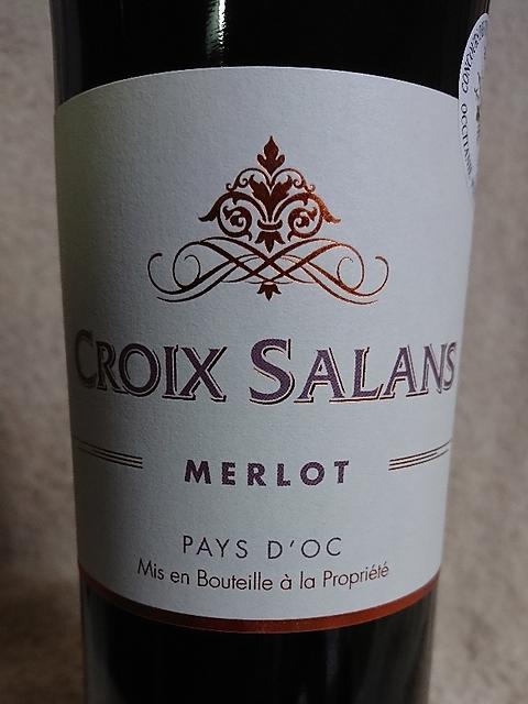 Croix Salans Merlot(クロワ・サラン メルロー)