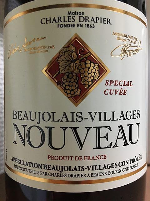 Charles Drapier Beaujolais Villages Nouveau Special Cuvée