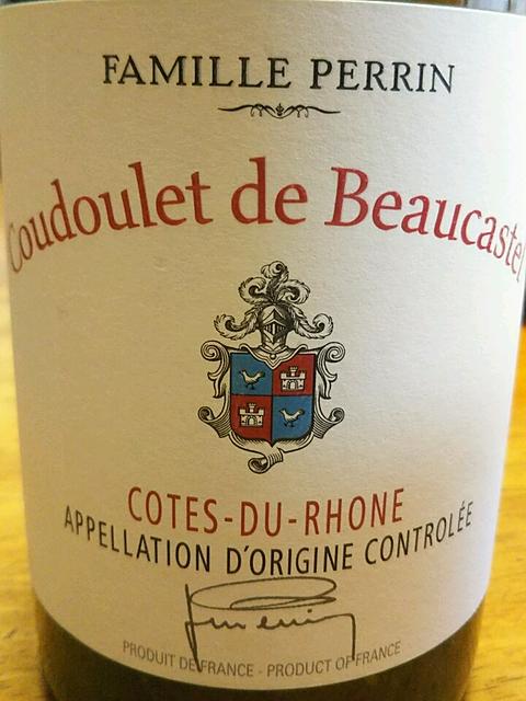 Famille Perrin Coudoulet de Beaucastel Côtes du Rhône Blanc