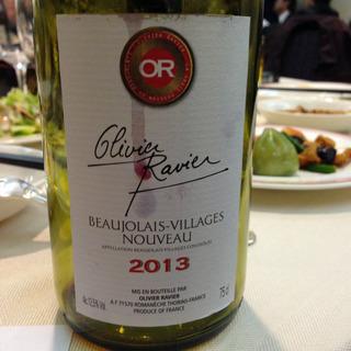 Olivier Ravier Beaujolais Villages Nouveau