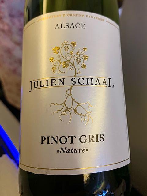 Julien Schaal Pinot Gris Nature(ジュリアン・スカール ピノ・グリ ナチュール)