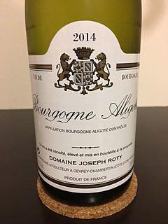 Dom. Joseph Roty Bourgogne Aligoté(ドメーヌ・ジョセフ・ロティ ブルゴーニュ アリゴテ)