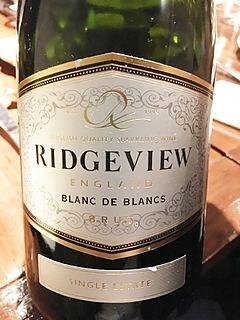 Ridgeview Blanc de Blancs Brut(リッジビュー ブラン・ド・ブラン ブリュット)