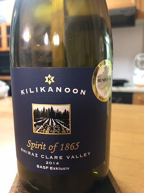 Kilikanoon Spirit of 1865 Shiraz