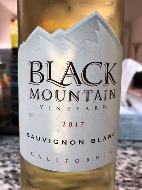 Black Mountain Vineyard California Sauvignon Blanc(ブラック・マウンテン・ヴィンヤード カリフォルニア ソーヴィニヨン・ブラン)