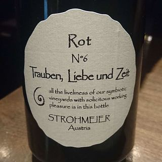 Strohmeier Trauben, Liebe und Zeit Rot N°6