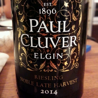 Paul Cluver Riesling Noble Late Harvest