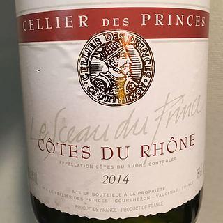 Cellier des Princes Côtes du Rhône Le Sceau des Prince Rouge
