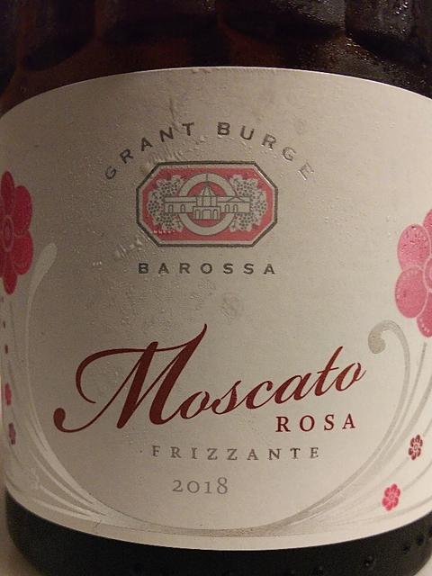 Grant Burge Moscato Frizzante(グラント・バージ モスカート フリッツァンテ)