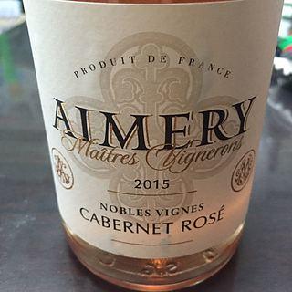 Aimery Maîtres Vignerons Nobles Vignes Cabernet Rose