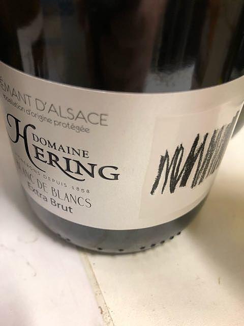 Dom. Hering Crémant d'Alsace Blanc de Blancs Extra Brut