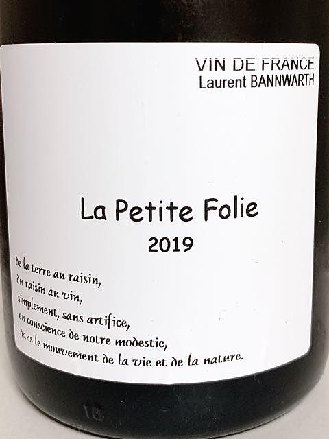 Laurent Bannwarth La Petite Folie