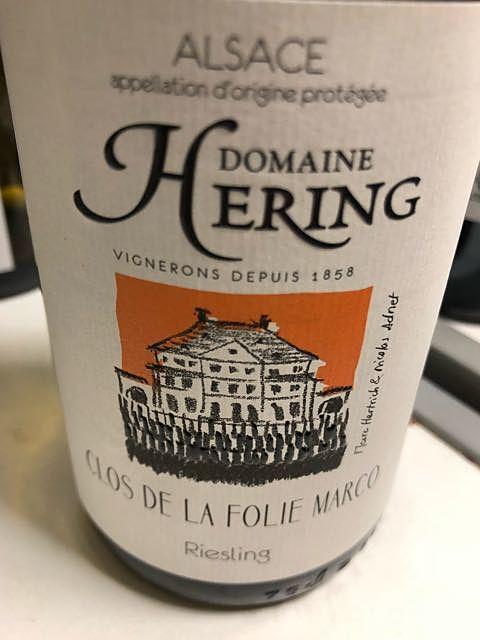 Dom. Hering Clos de la Folie Marco Riesling