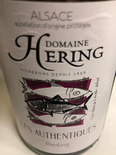 Dom. Hering Les Authentiques Riesling