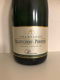 Allouchery Perseval Réserve Brut(アロウシュリー・ペルスヴァル リザーヴ・ブリュット)
