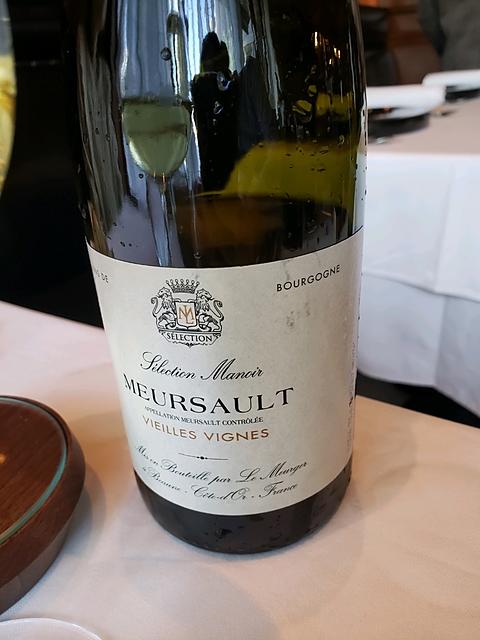 Sélection Manoir Meursault Vieilles Vignes(セレクション・マノワ ムルソー ヴィエイユ・ヴィーニュ)