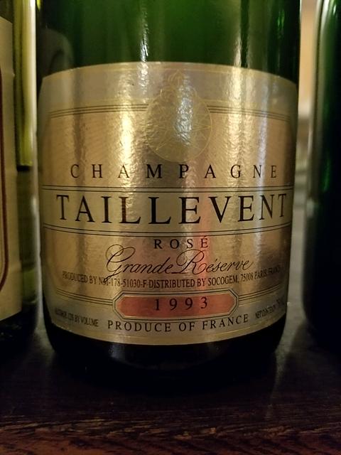 Champagne Taillevent Grand Réserve Brut Rosé