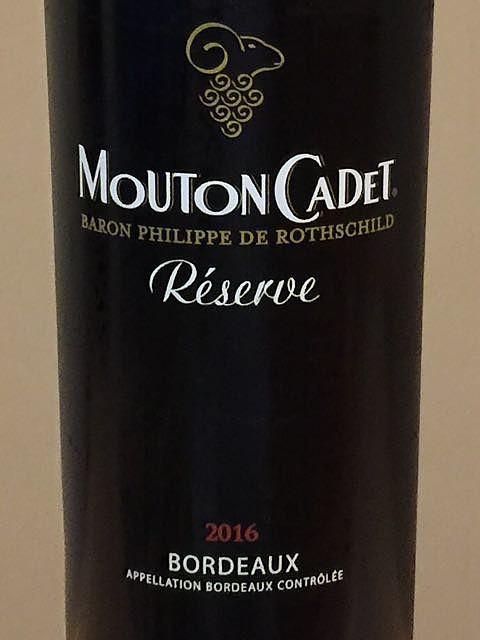 Mouton Cadet Réserve Bordeaux Rouge
