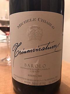 Michele Chiarlo Barolo Triumviratum Riserva(ミケーレ・キャルロ バローロ トリウムヴィラトゥム リゼルヴァ)