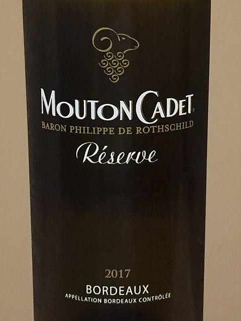 Mouton Cadet Réserve Bordeaux Blanc