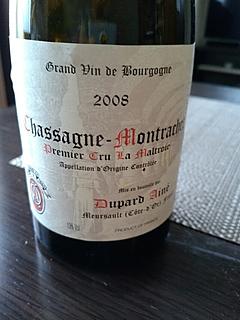 Dupard Ainé Chassagne Montrachet 1er Cru La Maltroie