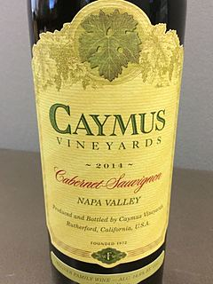 Caymus Vineyards Cabernet Sauvignon(ケイマス・ヴィンヤーズ カベルネ・ソーヴィニヨン)