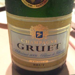 Champagne Gruet Blanc de Blancs Brut Millésime