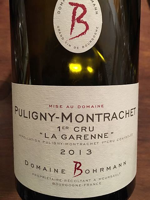 Dom. Bohrmann Puligny Montrachet 1er Cru La Garenne(ドメーヌ・ボーマン ピュリニー・モンラッシェ プルミエ・クリュ ラ・ガレンヌ)