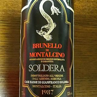 Soldera Brunello di Montalcino