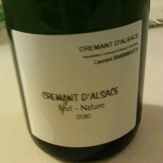 Laurent Bannwarth Crémant d'Alsace Brut Nature