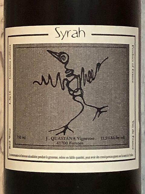 J. Quastana Syrah