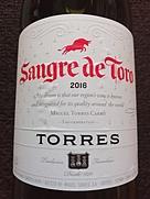 トーレス サングレ・デ・トロ ティント(2016)
